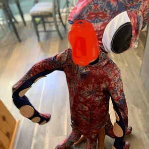 Chasing Fire Flies Kid Squid Costume 6